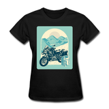Motorcycle in the Mountains - Women's - black
