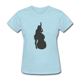 Lady with a Cello - Women's - powder blue