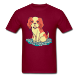 Happy Puppy 2 - Unisex - burgundy
