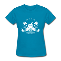Summer Beach Holiday - Women's Tee - turquoise