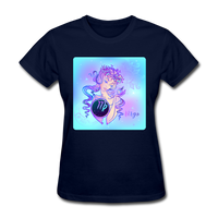 Virgo Lady on Blue - Women's - navy