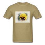 Yellow Pansy Watercolor - Unisex - khaki