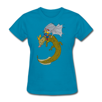 Hero Riding Monster - Women's - turquoise