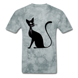Lady Black Cat - Men's - grey tie dye