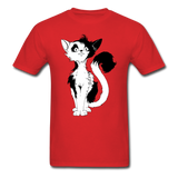 Black Tailed Cat - Unisex - red