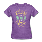 Creativity - purple heather