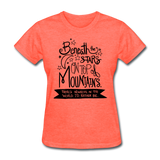 Beneath the Stars - Women's - heather coral