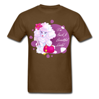 Beautiful Lady Poodle - Unisex - brown