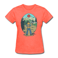 The Journey Begins2 - Women's - heather coral