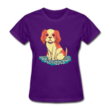 Happy Puppy - Women's - purple