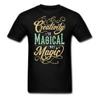 Creativity is Magical not Magic - Men's - black