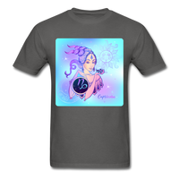 Capricorn Lady on Blue - Unisex - charcoal