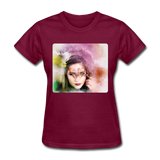 Beautiful Lady Butterfly2 - Women's - burgundy