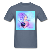Capricorn Lady on Blue - Unisex - denim