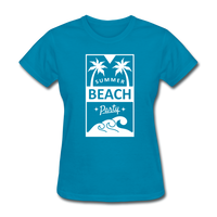 Summer Beach Party Design #2 - Women's - turquoise
