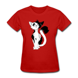 Black Tailed Cat - Women's - red