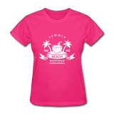 Summer Beach Holiday - Women's Tee - fuchsia