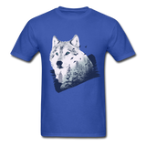 Wolf in the Forest - Men's - royal blue