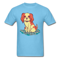 Happy Puppy 2 - Unisex - aquatic blue