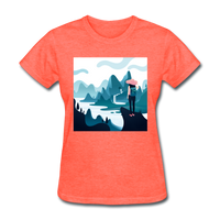 Lady in Pink Hiking - Women's - heather coral