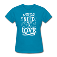 All You Need is Love - Women's - turquoise