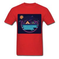 Camping on the Lake - Unisex - red