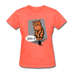Cat and a Mouse - Women's - heather coral