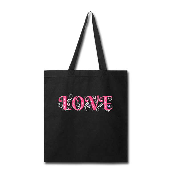 Love Design - tote2 - black
