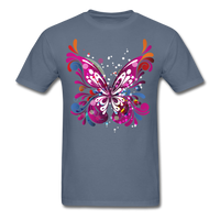 Abstract Butterfly - denim