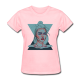 Lady Portrait - Alone - Women's - pink