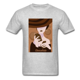 A Chocolate Eating Classy Lady - Men's - heather gray