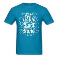 Let Your Light Shine - Men's - turquoise