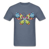 Patterned Butterfly - Men's - denim
