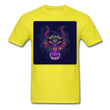 Colorful Dragon Face 2 - Unisex - yellow