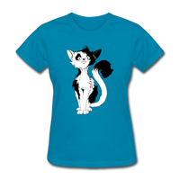Black Tailed Cat - Women's - turquoise