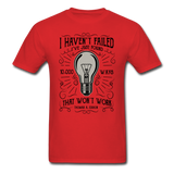 I Haven't Failed - Men's - red