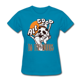 All Good in the Woods Panda - Women's - turquoise