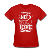 All You Need is Love - Women's - red