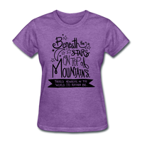 Beneath the Stars - Women's - purple heather