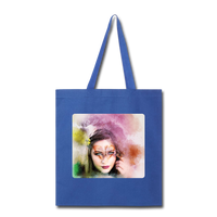 Beautiful Lady Butterfly2 - Tote - royal blue