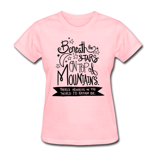Beneath the Stars - Women's - pink