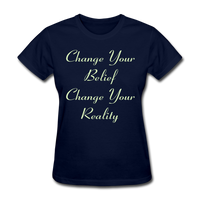 Change Your Belief - Women's - navy