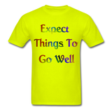 Expect Things - Unisex - safety green