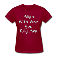 Align With - Ladies - dark red