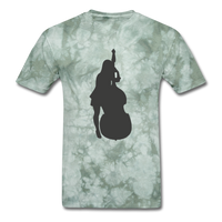 Lady with a Cello - Men's - military green tie dye