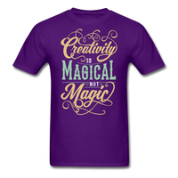 Creativity is Magical not Magic - Men's - purple