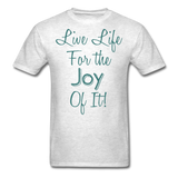 Life Life Joy - Unisex - light heather grey
