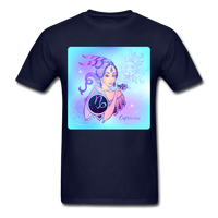 Capricorn Lady on Blue - Unisex - navy