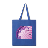Sun Rays and Butterflies - Tote - royal blue