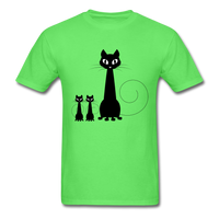 Black Cat Family - Men's - kiwi